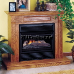 Comfort Glow compact ventfree fireplaces and ventfree fireplace accessories
